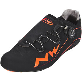 Northwave Flash Shoes Men black/lobster orange